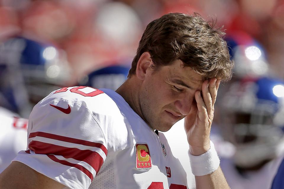 Giants' 0-4 start is worst since '87 replacements