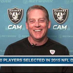 Oakland Raiders head coach Jack Del Rio: Amari Cooper is more polished than Kevin White