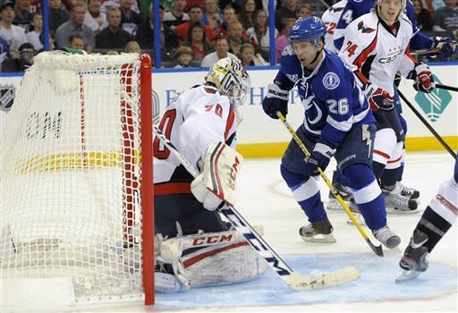 St. Louis, Brewer score twice in Lightning win