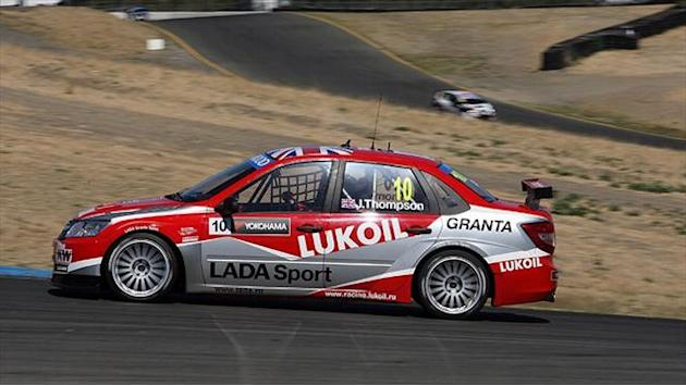 WTCC - Michelisz and Thompson on top in Sonoma warm-up
