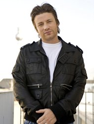 British celebrity Chef Jamie Oliver