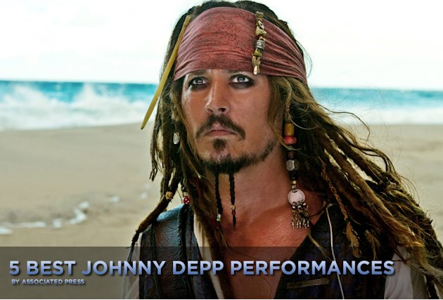 5 Best Johnny Depp Performances 2011 Title Card