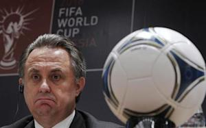 Russian Sports Minister Vitaly Mutko attends a news conference in Moscow