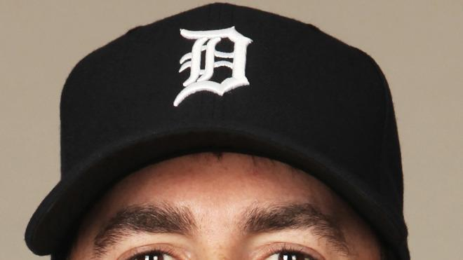 Justin Verlander Baseball Headshot Photo
