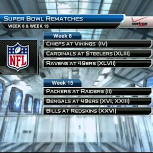 Super Bowl rematches to take place in 2015