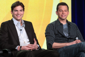 UPDATE: Ashton Kutcher & Jon Cryer Set For Just-Ordered Season 11 Of '2.5 Men', Angus T. Jones Won't Return As Regular