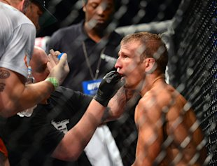 TJ Dillashaw is now the bantamweight division's top guy . (Jason Silva-USA TODAY Sports)