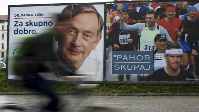 Clashes in Slovenia ahead of presidential vote