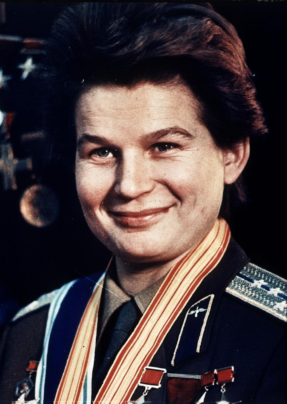 Tereshkova marks 50 years of her historic flight