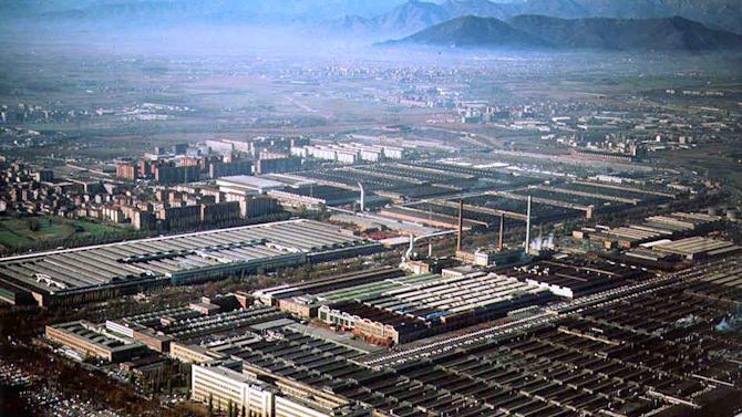 FILE - This March 2000 file photo shows an aerial view of the Fiat Mirafiori factory in Turin, northern Italy. Fiat and Chrysler CEO Sergio Marchionne is proposing a joint venture with Chrysler LLC at Turin's Mirafiori auto plant. The joint venture would make Alfa Romeo and Jeep brand vehicles for the domestic and export markets, with volumes at the plant expected to reach up to 280,000 a year. Fiat controls Chrysler with a 20 percent stake. Marchionne made the proposal during a meeting with unions in Turin on Friday, Nov. 26, 2010. (AP Photo/Courtesy of Fiat, file, ho)