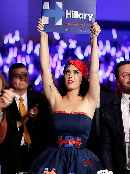 Katy Perry, Elton John and Andra Day Will Perform at Concert for Hillary Clinton