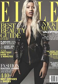 Nicki Minaj | Photo Credits: Elle Magazine