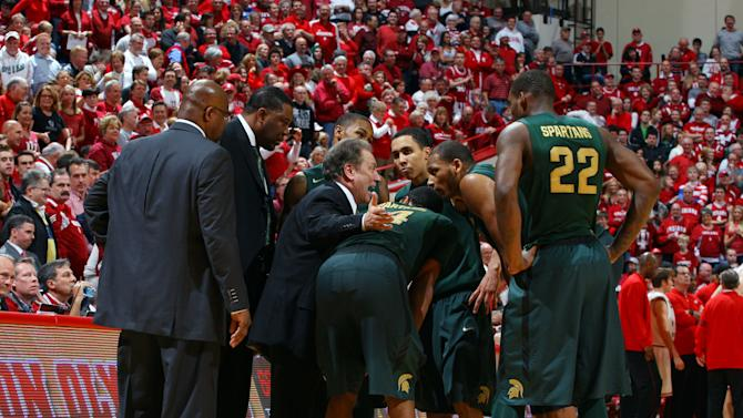 NCAA Basketball: Michigan State at Indiana
