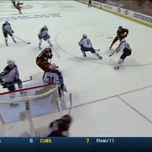 Silfverberg nets late GWG on Pavelec