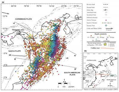 Side-Impact Tectonics Created Colombia's Strange Geology
