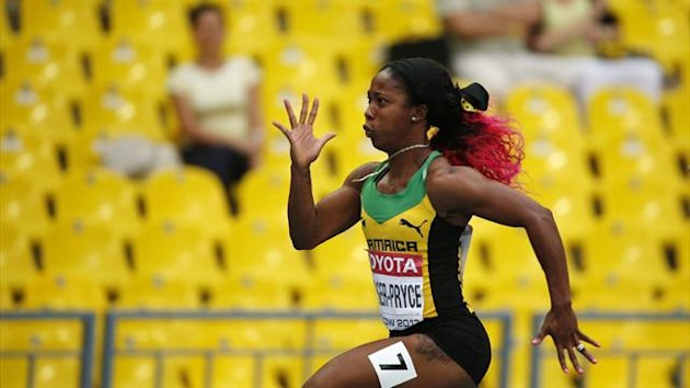 Shelly-Ann Fraser-Pryce of Jamaica (Reuters)