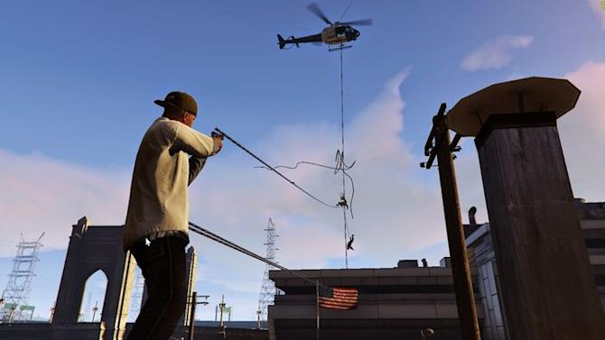 Modder brings Just Cause's outrageous grappling hook to Grand Theft Auto 5