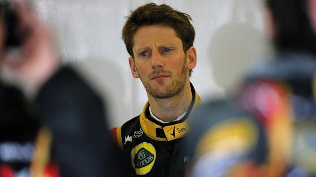 2013 GP of Great Britain Lotus Grosjean