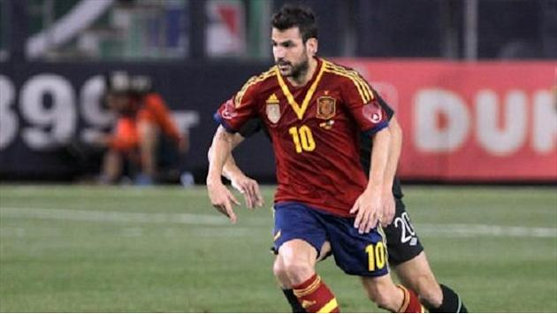 World Cup - In-form Cesc could be key for Spain in Finland