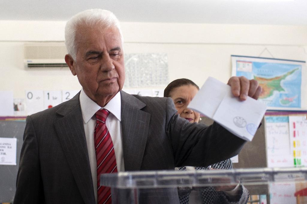 Turkish Cypriot leader ahead after first round of vote