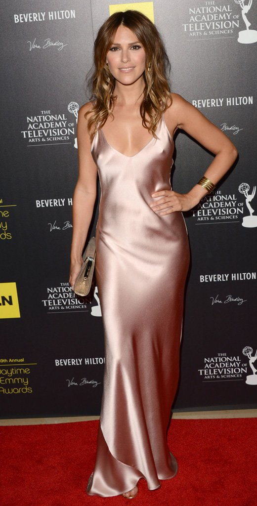 Elizabeth Hendrickson at the 2012 daytime Emmy Awards