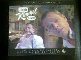 "EMMYS: Will ""Arch Rival"" Matt Damon Be Jimmy Kimmel's Ticket To Finally Winning That Statuette?"