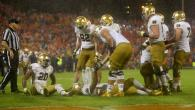 Notre Dame heavy favorites against rival Navy