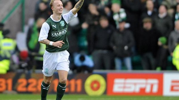 Leigh Griffiths wants to stay at Hibernian