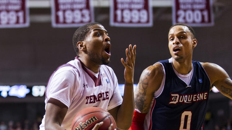NCAA Basketball: Duquesne at Temple