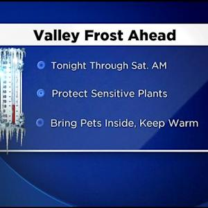 Sacramento Region Braces For First Widespread Frost Of The Winter