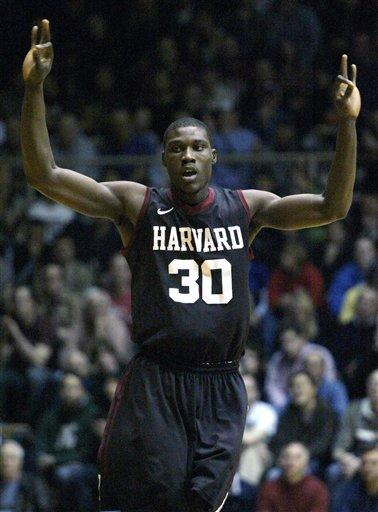 No. 25 Harvard holds off Penn 56-50
