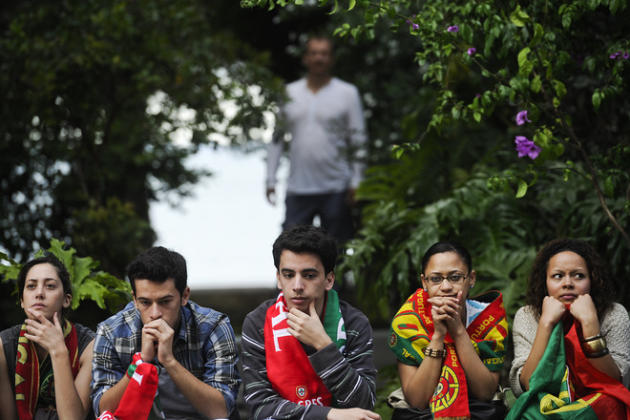 Portuguese Football Fans AFP/Getty Images