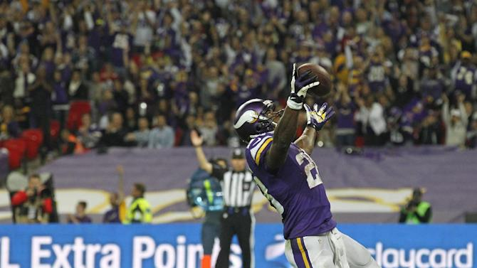 Vikings beat Steelers 34-27 in London