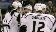 Brown takes Lucic's spot on top Kings line