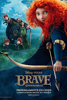 Póster de Brave (Indomable)