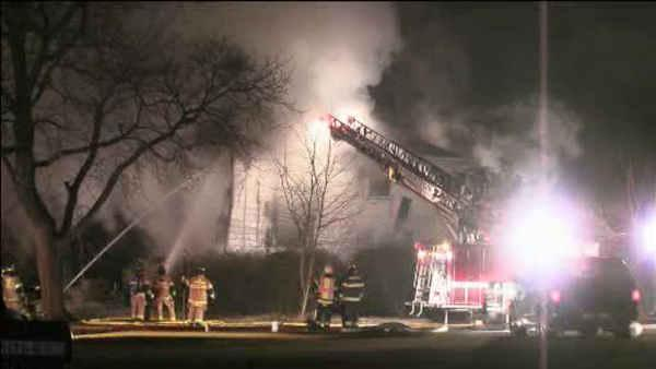 5 injured, including firefighters, in East Norriton blaze