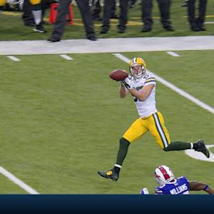 Green Bay Packers wide receiver Jordy Nelson drops perfect pass from quarterback Aaron Rodgers
