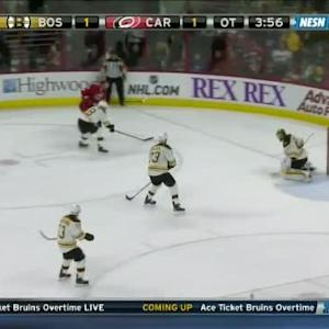 Tuukka Rask Save on Jordan Staal (01:04/OT)
