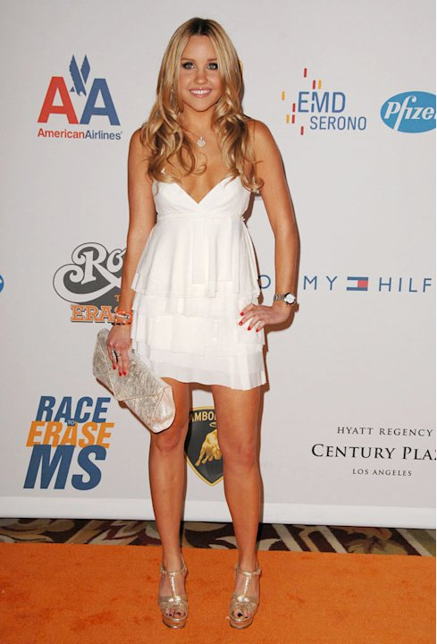 Amanda Bynes arrives at the 16th Annual Race to Erase MS event co-chaired by Nancy Davis and Tommy Hilfiger at Hyatt Regency Century Plaza on May 8, 2009 in Century City, California. 