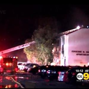 Firefighters Knock Down Blaze In LMU Dormitory