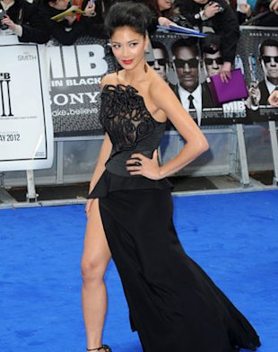 PHOTOS: Nicole Scherzinger Rocks Sexy Side Split At 'Men In Black III' Premiere