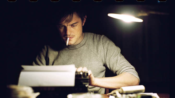 "This undated publicity film image released by IFC Films/Sundance Selects shows Sam Riley as Sal Paradise/Jack Kerouac in a scene from the film, ""On the Road,"" directed by Walter Salles. (AP Photo/IFC Films/Sundance Selects, Gregory Smith)"