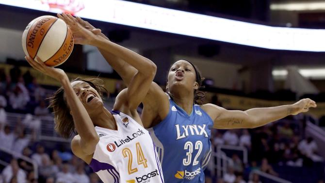 Lynx sweep Mercury, advance to 3rd straight finals