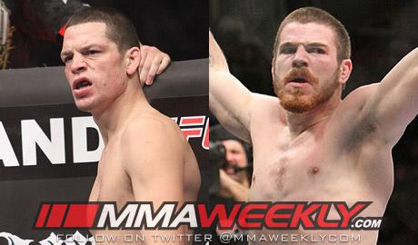 "Nate Diaz Has Title Shot at Stake; Jim Miller ""a Fight or Two Away"""