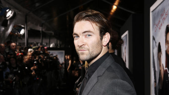 """Fight Arranger Sam Hargrave arrives at the premiere of """"Hansel & Gretel Witch Hunters"""" on Thursday Jan. 24, 2013, in Los Angeles.  (Photo by Todd Williamson/Invision/AP)"""