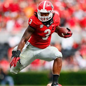 Gurley's record day helps Georgia past Tennessee
