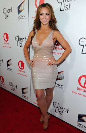 Jennifer Love Hewitt steps out at the red carpet launch party for Lifetime and Sony Pictures' 'The Client List' at Sunset Tower in West Hollywood, Calif. on April 4, 2012 -- Getty Images