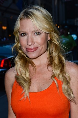Tracy Anderson leaves the 'Good Afternoon America' taping at the ABC Times Square Studios in New York City on August 29, 2012  -- Getty Premium