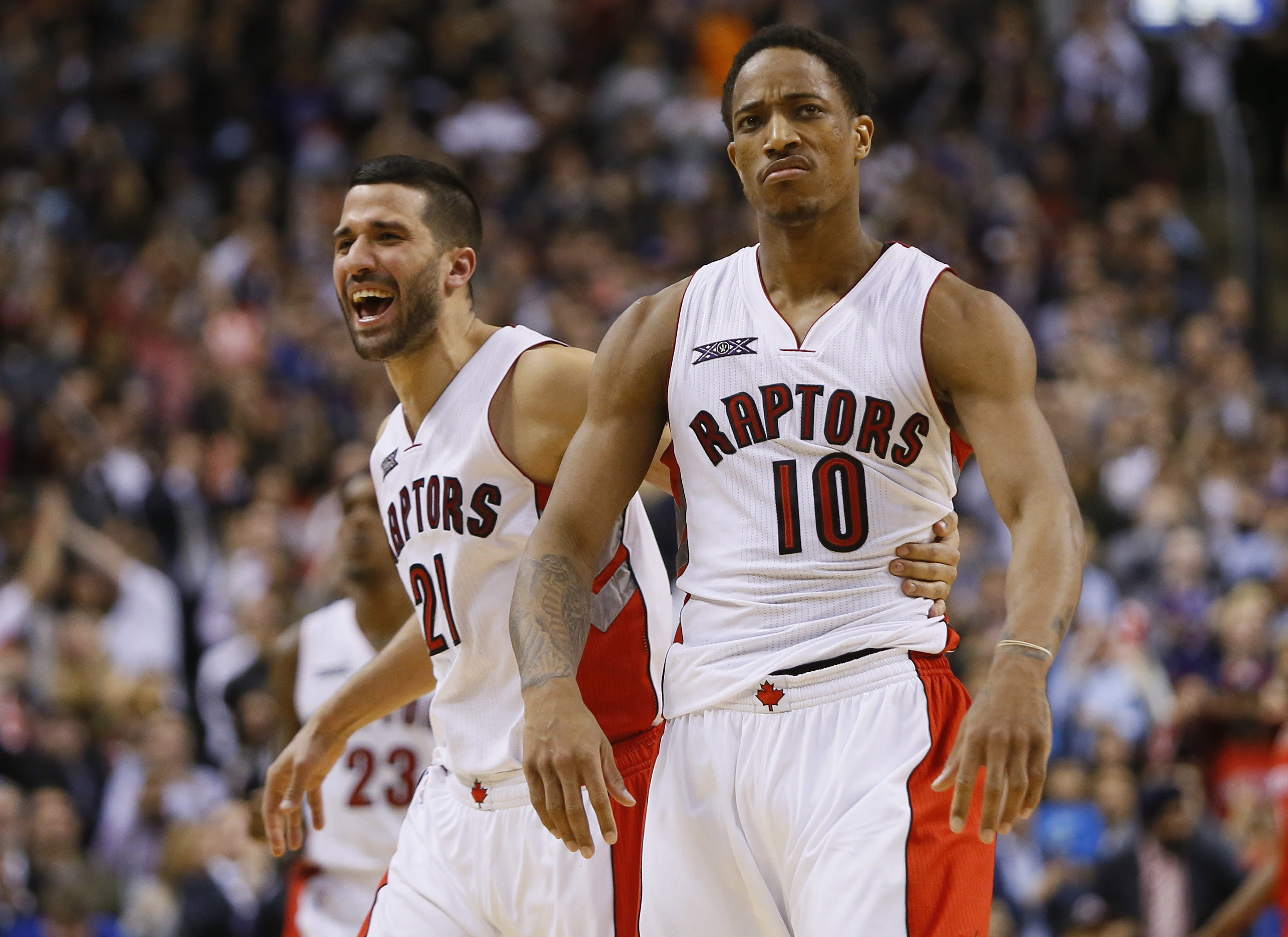 NBA Playoff Picture Update: Raptors soar past Rockets