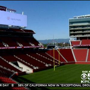 Final Prep Underway Before Earthquakes Play In First-Ever Sporting Event At Levi's Stadium